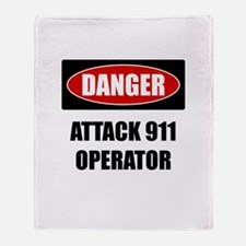 Danger: Attack 911 Operator Throw Blanket