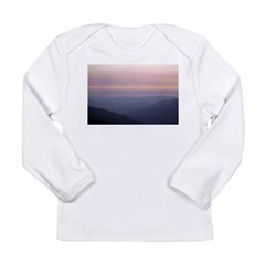 Mountains and Sunsets Long Sleeve Infant T-Shirt