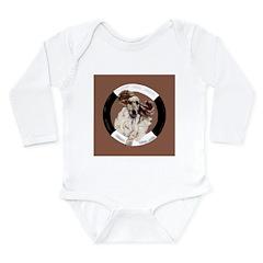 Agility English Cocker Long Sleeve Infant Bodysuit