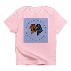 Dachshund Duo Infant T-Shirt