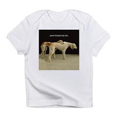 Saluki Best Friends Infant T-Shirt
