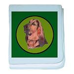 Exquisite Bloodhound baby blanket