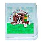 Bassett Hound Party guy!! baby blanket