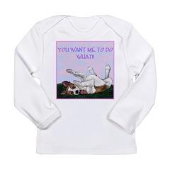 Borzoi Puppy Long Sleeve Infant T-Shirt