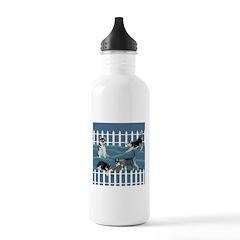 Siberian Husky Puppy Pen Water Bottle