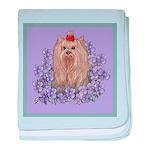 Yorkshire Terrier - YORKIE baby blanket