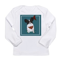 Papillion Long Sleeve Infant T-Shirt