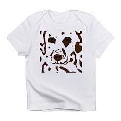 Copper Dalmatian brown eyes Infant T-Shirt