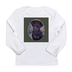 Flat Coated Retriever Long Sleeve Infant T-Shirt