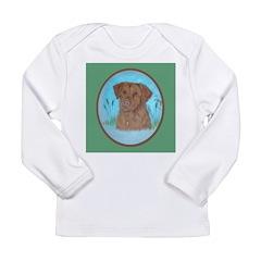 Nova Scotia Duck Toller Long Sleeve Infant T-Shirt