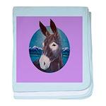 Donkey - Jack Ass baby blanket