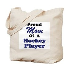 Mom Hockey Player Tote Bag