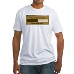 Chocolate Loading Fitted T-Shirt