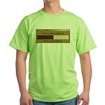 Chocolate Loading Green T-Shirt