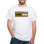 Chocolate Loading White T-Shirt
