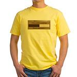 Chocolate Loading Yellow T-Shirt