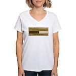 Chocolate Loading Women's V-Neck T-Shirt