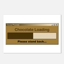 Chocolate Loading Postcards (Package of 8)