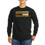 Chocolate Loading Long Sleeve Dark T-Shirt