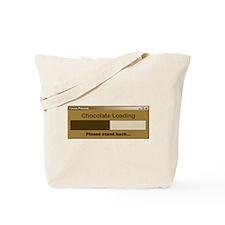 Chocolate Loading Tote Bag