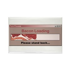 Bacon Loading Rectangle Magnet