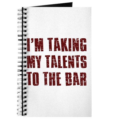 I'm taking my talents to the bar Journal