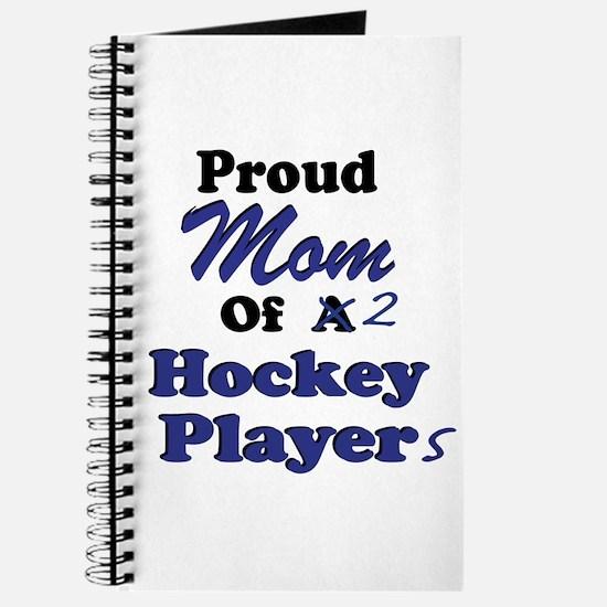Mom 2 Hockey Players Journal