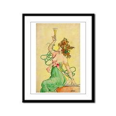 Absinthe Blanqui Framed Panel Print