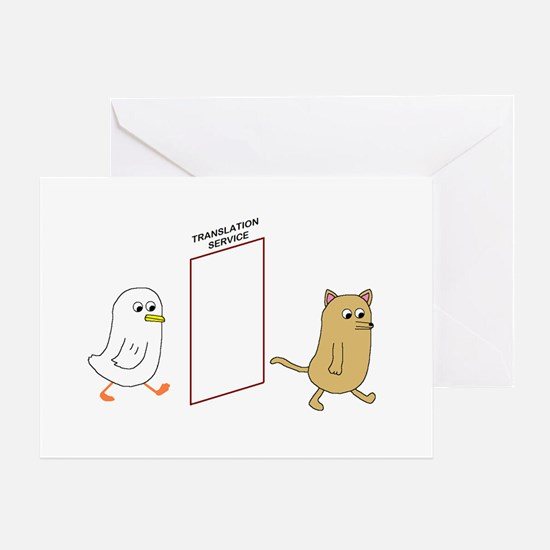 Translation Service Greeting Card
