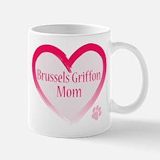 Brussels Griffon Pink Heart Mug