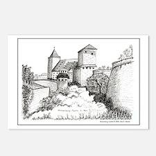 Nuremburg Castle Postcards (Package of 8)