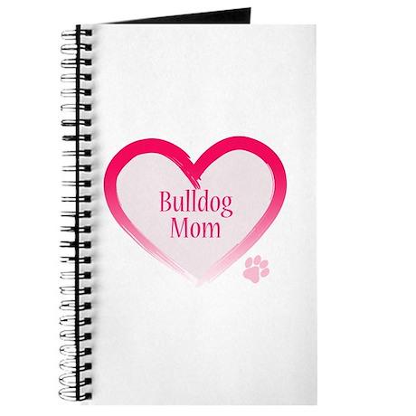 Bulldog Pink Heart Journal