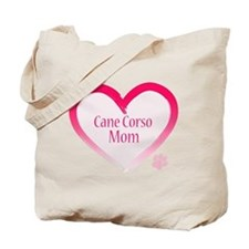 Cane Corso Pink Heart Tote Bag
