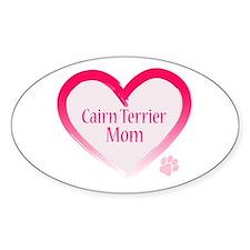 Cairn Terrier Pink Heart Decal