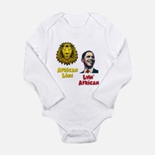 Obama Lyin' African Long Sleeve Infant Bodysuit