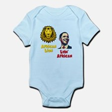 Obama Lyin' African Infant Bodysuit