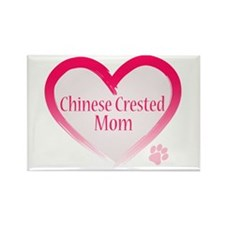 Pug Mom Rectangle Magnet (100 pack)