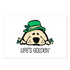 St. Patrick's Golden Postcards (Package of 8)