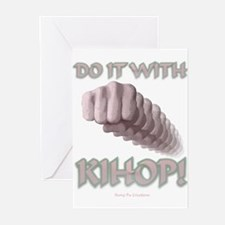With Kihop Fist Greeting Cards (Pk of 10)