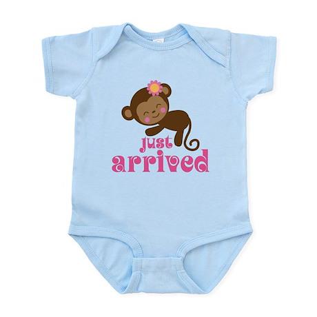 Just Arrived Monkey Infant Bodysuit