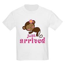Just Arrived Monkey T-Shirt