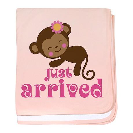 Just Arrived Monkey baby blanket