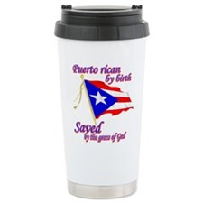 Puerto rican Travel Mug