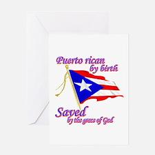 Puerto rican Greeting Card