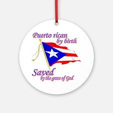 Puerto rican Ornament (Round)