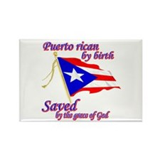 Puerto rican Rectangle Magnet