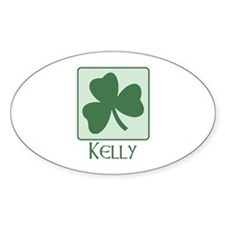 Kelly Family Oval Decal