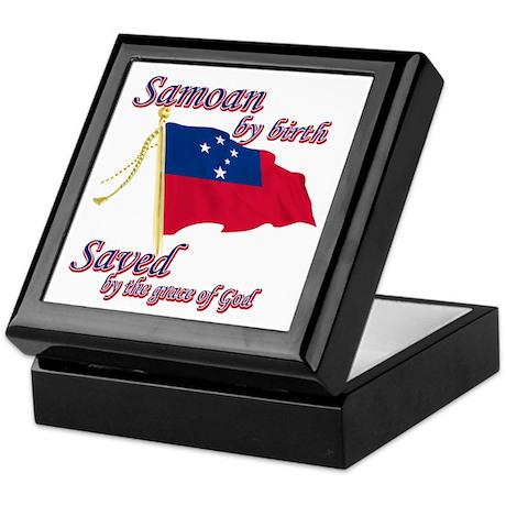 Samoan by birth Keepsake Box