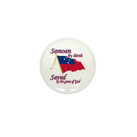 Samoan by birth Mini Button (100 pack)