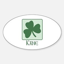 Kane Family Oval Decal